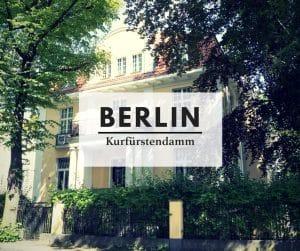 Kurfürstendamm   Berlin with sense